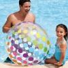 """(ขนาด 42 นิ้ว) ลูกบอลเป่าลม บอลชายหาด ลายจุดสีสวย ขนาดใหญ่ 59065 INTEX Jumbo Beach Ball ( 42"""" )"""