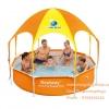 ( ขนาด 8 ฟุต ) สระว่ายน้ำ Bestway มีหลังคา ป้องกันรังสียูวีหลังคา ขนาด 2.5 เมตร