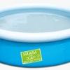 ( ขนาด 5 ฟุต ) สระน้ำ แบบกลม ขนาดกลาง (สีฟ้า) ขนาด 153*38 เซนติเมตร