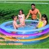 ( ขนาด 6.5 ฟุต ) สระน้ำเป่าลม ทรงกลม สีสดใส เล่นได้ทั้งครอบครัว Bestway 51029 ขนาด 2 เมตร สูง 53 เซนติเมตร