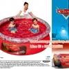 ( ขนาด 6.5 ฟุต ) (Bestway 91026) สระว่ายน้ำขนาดใหญ่ ลายการ์ตูนเรื่องคาร์ Cars ลิขสิทธิ์ของแท้ cars fast pool ขนาด 198 X 51 เซนติเมตร / ที่สูบลมไฟฟ้า