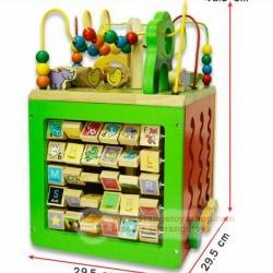 ของเล่นเด็ก กล่องกิจกรรมไม้ Busy zoo *** Parents ****