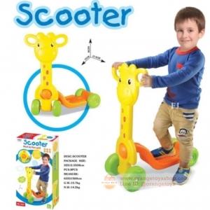 สกู๊ตเตอร์ (scooter) สกู๊ตเตอร์ สำหรับเด็ก รถสกู๊ตเตอร์ สำหรับเด็ก ยีราฟแสนซน