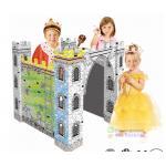 ปราสาทระบายสี diy doodle little castle