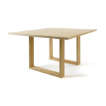 โต๊ะไม้จริง ดีไซน์ขา U คุณภาพส่งออก (รับสั่งทำโต๊ะตามขนาด) Pre-Order