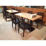 เซทโต๊ะ 2 ที่นั่ง สำหรับร้านอาหาร (U2-SET)