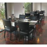 เก้าอี้ดีไซน์เรียบหรู ที่นั่งสปริง สำหรับแต่งร้านอาหาร คาเฟ่ (MARONNY DESIGN)