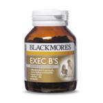 Blackmores EXEC B's (60 เม็ด) วิตามินรวมที่มีส่วนประกอบของวิตามินบีปริมาณสูง บำรุงร่างกาย สำหรับผู้เหนื่อยล้า หรือเครียดจากการทำงานหนัก