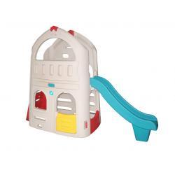 LERADO--Plastic Toys - Little Playgrounds บ้านกระดานลื่น 2 ชั้น