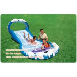 "สไลด์เดอร์ สวนน้ำ Children's play center ""Ride on the waves of"" Intex 57469 NP"