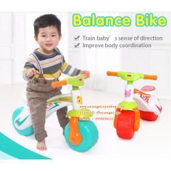 Huile Toys จักรยานทรงตัว สามล้อ สำหรับเด็ก Huile Balance Bike