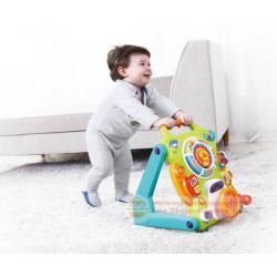 รถผลักเดินกิจกรรม รถผลักเดิน NuoPeng 3 in 1 Baby Sit-to-stand Walker