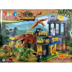 DIY BLOCK บล๊อก ตัวต่อ ชุดบล๊อกตัวต่อไดโนเสาร์ กล่องใหญ่ 135 ชิ้น