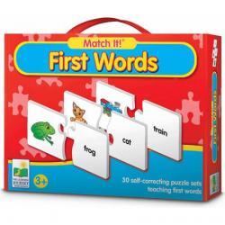 Match it -- > จิ๊กซอว์ ตัวต่อ จับคู่ภาพกับคำศัพท์