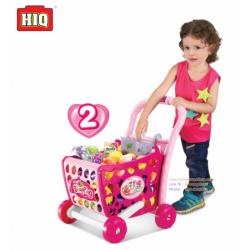 ชุดรถเข็นซุปเปอร์ Kids Shopping 3 in 1 Cart (สีฟ้า และสีชมพู) kitchen play set,cooking toys