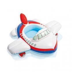 เรือขาสอด INTEX ห่วงยางว่ายน้ำเด็กเล็ก แบบสอดขา รุ่น 59586 รูปเครื่องบินขาว