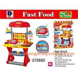 ชุดโต๊ะเครื่องครัว Fast Food