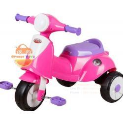 รถจักรยาน สามล้อ สำหรับเด็ก รถสามล้อถีบ เวสป้า