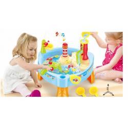 เกมส์ ชุดตกปลา สำหรับเด็ก Fishing Game with music and lights fishing table Play