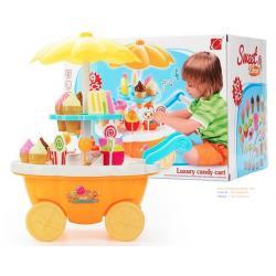ชุดร้านขนม ร้านของหวาน Sweet Shop Luxury Candy Cart ชุด 39 ชิ้น สีส้ม