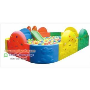 ( รั้วกั้น )คอกบอล บ่อบอ สี่เหลี่ยม ขนาดใหญ่ บ่อบอลสวนสัตว์ ขนาด 3.2ตร.ม. เหมาะสำหรับเด็กอายุ 2-6 ปี (ไม่รวมบอลและกระดานลื่น)