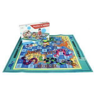 PLAY MAT เกมส์บันไดงู เกมส์บันไดงู แบบกระดานผ้า