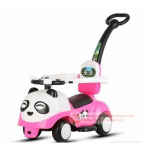 รถขาไถ 3 in1 Car Stroller - Baby มีกันตก มีด้ามเข็น หน้าหมีแพนด้า