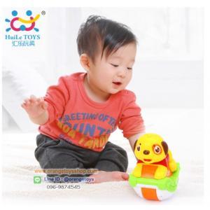 Huile Toys น้องหมาโยกเยก ของเล่นเด็กอ่อน Sliding Animals สัตว์น้อยโยกเยก