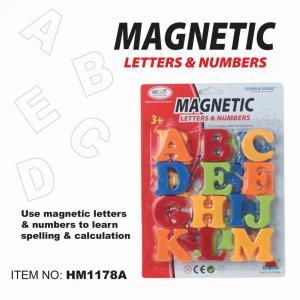 First Classroom - Magnetic ABC ตัวอักษรแม่เหล็ก แบบแผง ขนาด 2 นิ้ว