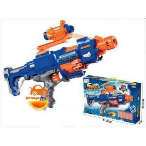 ชุดปืน กระสุนโฟม ปืนยิงลูกกระสุนโฟม Barricade RV-10 สีน้ำเงิน มีลูกกระสุนให้ 20 ลูก