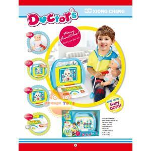 ชุดคุณหมอ Little doctor set 008-808A สีเสียง แบบกล่อง
