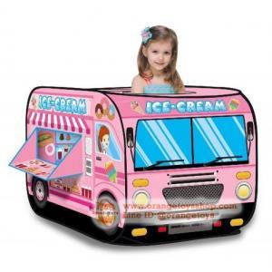 เต็นท์ รถขายไอศครีม สีชมพูสุดสวย พร้อมลูกบอล 50 ลูก **Candy Car with Ball 50