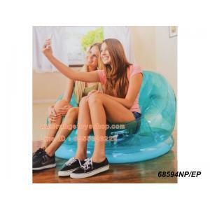 โซฟาเป่าลม intex Cosmo Chair Blue 1.04 m x 1.17 m x 69 cm
