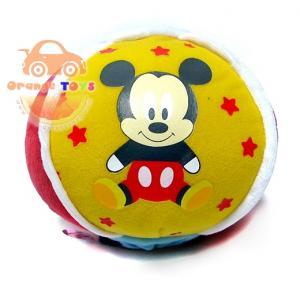 ลูกบอลมิินนี่ มีเสียง สีเหลือง สีชมพู