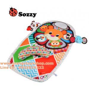 ที่นอนเด็ก sozzy สวนสัตว์ แบบกล่อง ขนาด 90 x 55 เซนติเมตร