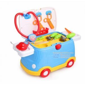 รถเด็กนั่ง พร้อมชุดเครื่องมือคุณหมอ 2 IN 1 มีไฟ มีเสียง