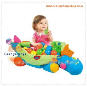 เบาะนั่งเด็ก ไดโนเสาร์ พร้อมลูกบอล 60 ลูก ในกล่อง
