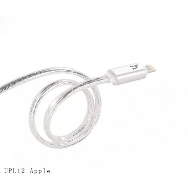 Hoco สายชาร์จ For iPhone UPL12 Quick Charger & Data สีเงิน
