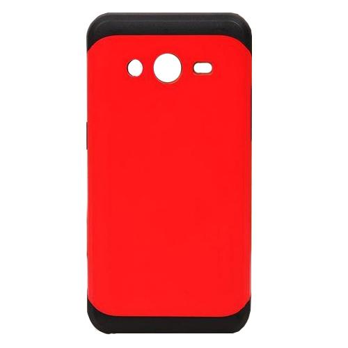เคส Samsung A8 เคสแบบฝาหลัง รุ่น Slim armor สีแดง สไตล์โฉบเฉี่ยว จับกระชับมือ