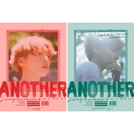 [Pre] Jeong Se Woon : 2nd Mini Album - ANOTHER (A+B Ver. SET) +Poster