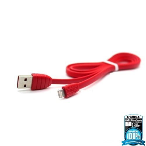 Remax สายชาร์จ Cable Lightting DREAM สำหรับ Iphone สีแดง