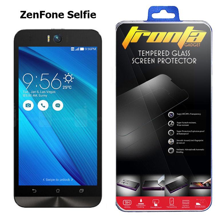 Tronta ฟิล์มกันรอยมือถือ ฟิล์มกระจกนิรภัยเซนโฟน Selfie ZD551KL