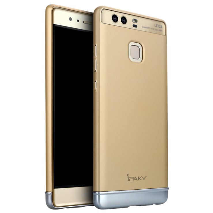 IPAKY Case Huawei P9 (Gold)