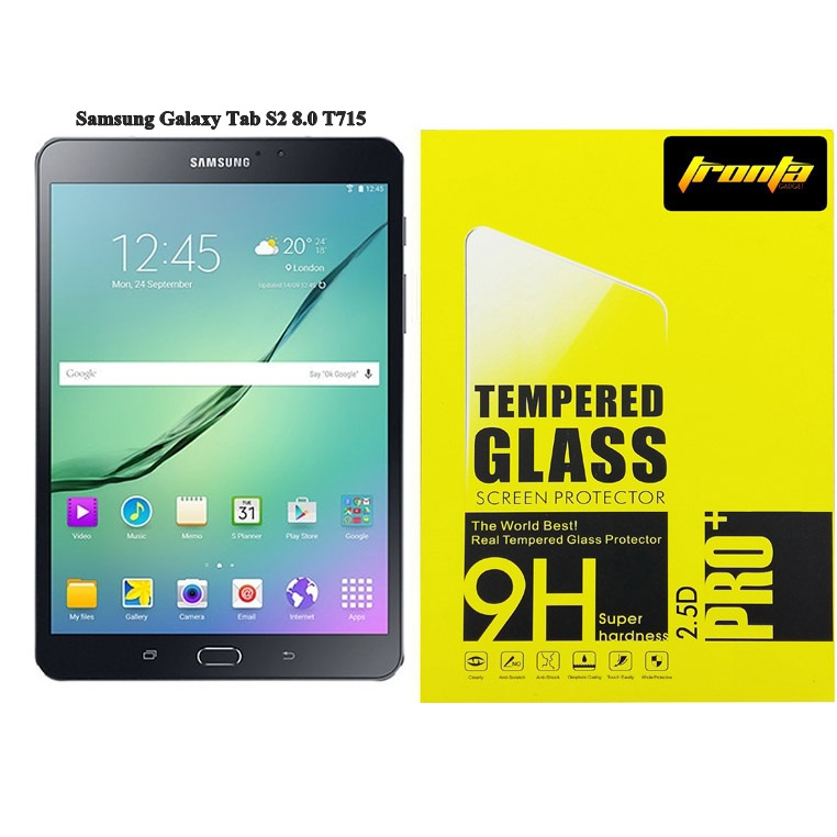 Tronta ฟิล์มกระจก ฟิล์มกันรอยมือถือ Samsung Tab S2 8.0 T715 ซัมซุงแท็ปเอสสอง