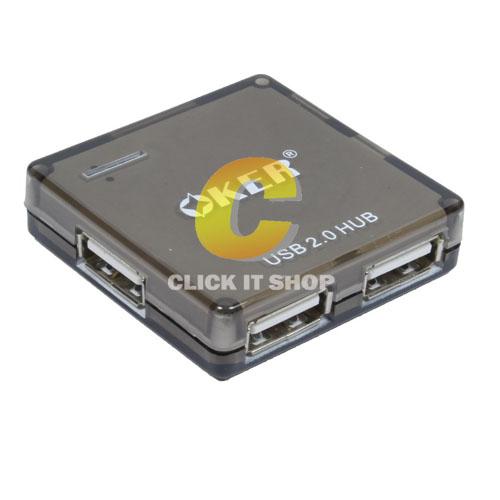 4 Port USB HUB 'OKER' (H801)