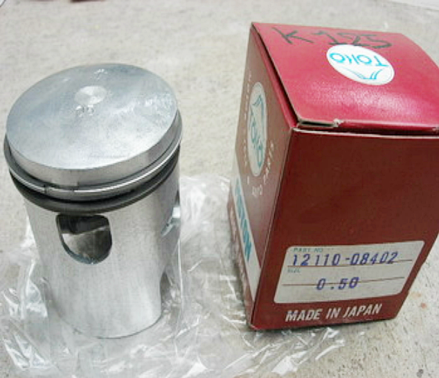 ลูกสูบ + แหวน K125 S10 Size 1.00 เทียม-ใหม่