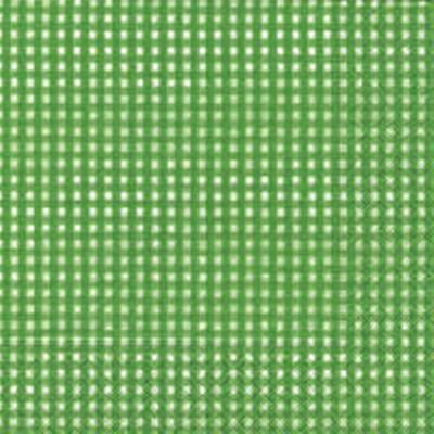 แนวภาพลายแต่ง ตารางสก๊อตสีเขียวแซมขาว ภาพโทนสีเขียวอ่อน เป็นภาพเต็มแผ่น กระดาษแนพกิ้นสำหรับทำงาน เดคูพาจ Decoupage Paper Napkins ขนาด 33X33cm