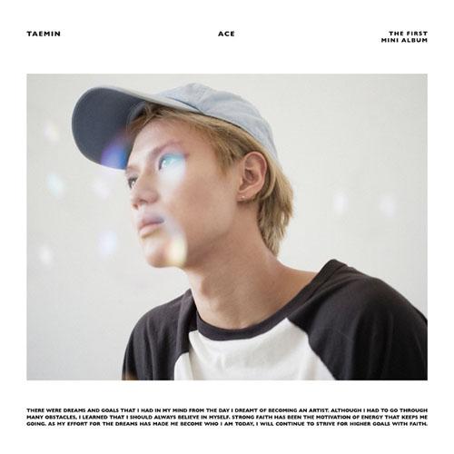 [Pre] Taemin : 1st Mini Album - ACE (Black/White Cover Color)