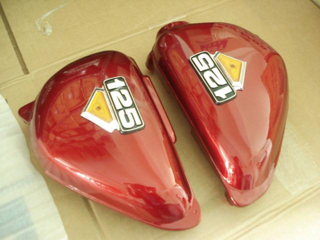 ฝากระเป๋า CB100 CB125S เทียม งานใหม่