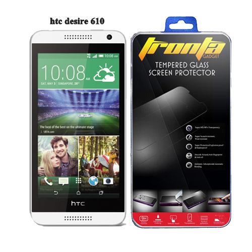 Tronta ฟิล์มกันรอยมือถือ ฟิล์มกระจกนิรภัยกันกระแทก HTC Desire 610 เฮชทีซี